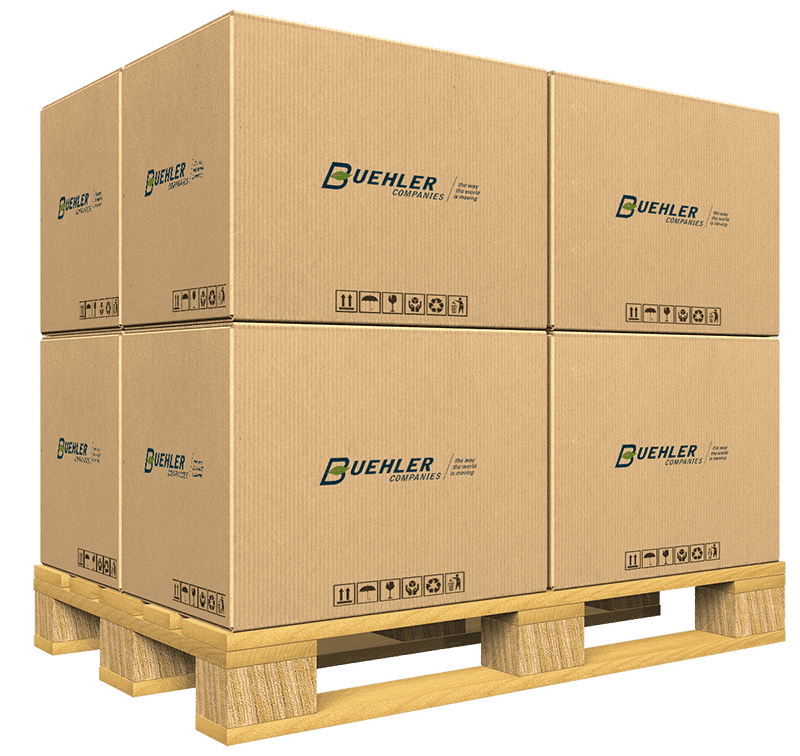 Buehler Moving - Storage Boxes