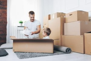moving during the holiday season