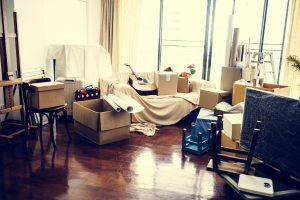 Moving out of your parent's house (again) Part 1