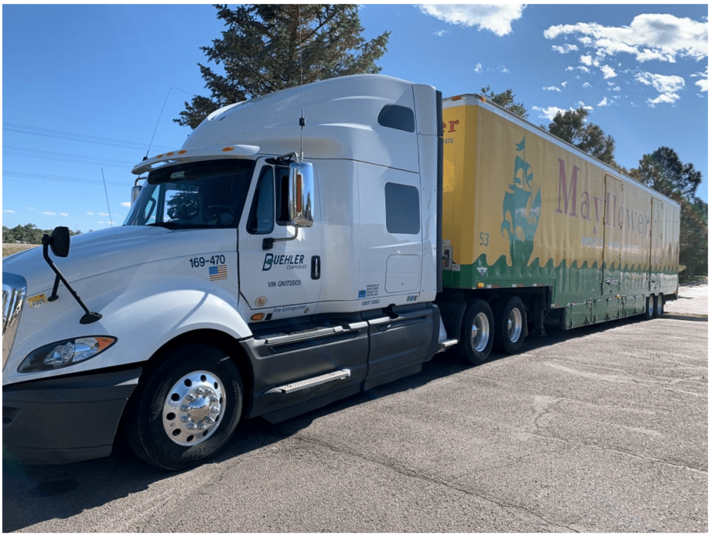 Buhler Long Distance Move Truck