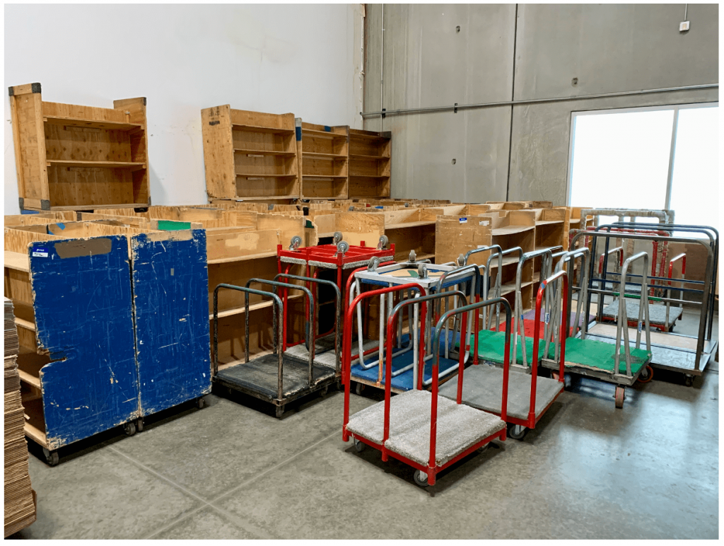 Buehler Moving Supplies Carts