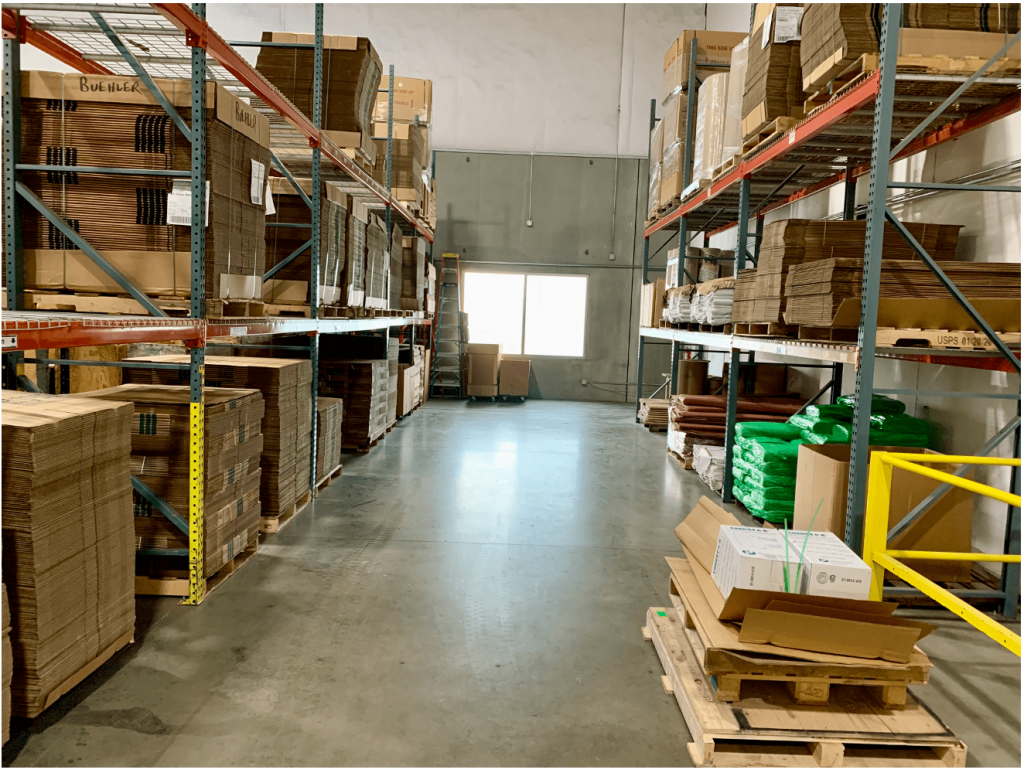 Buehler Moving Supplies Racking