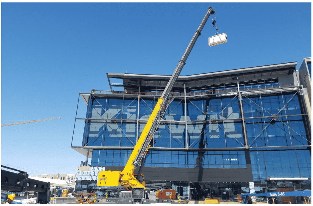 Crane lifting block
