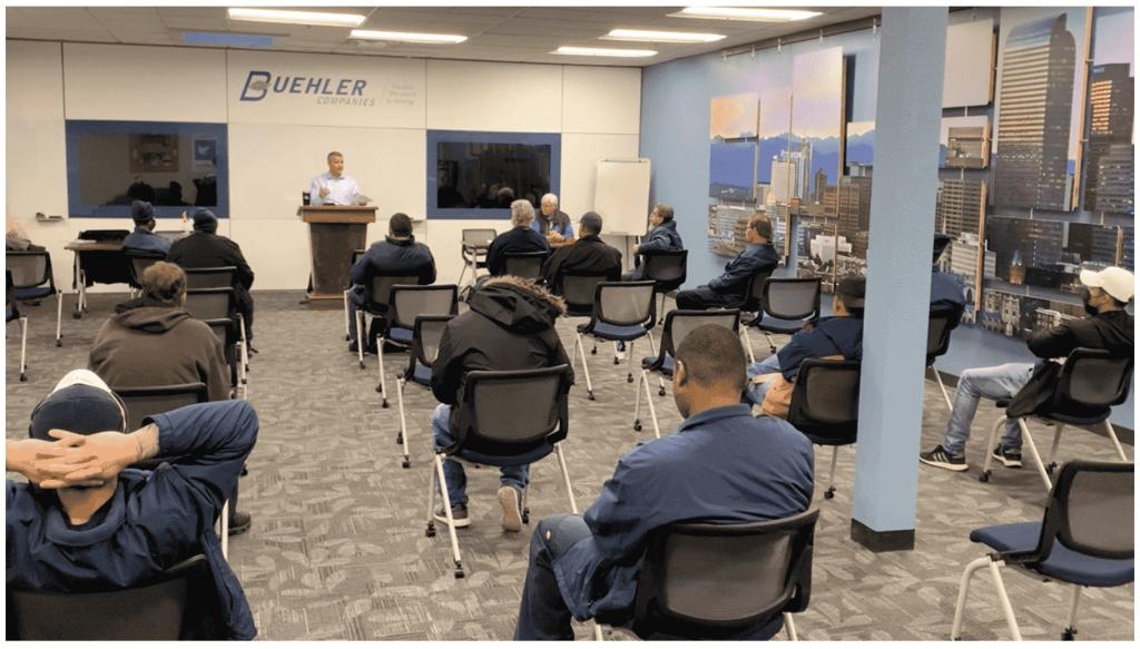 Buehler employee training