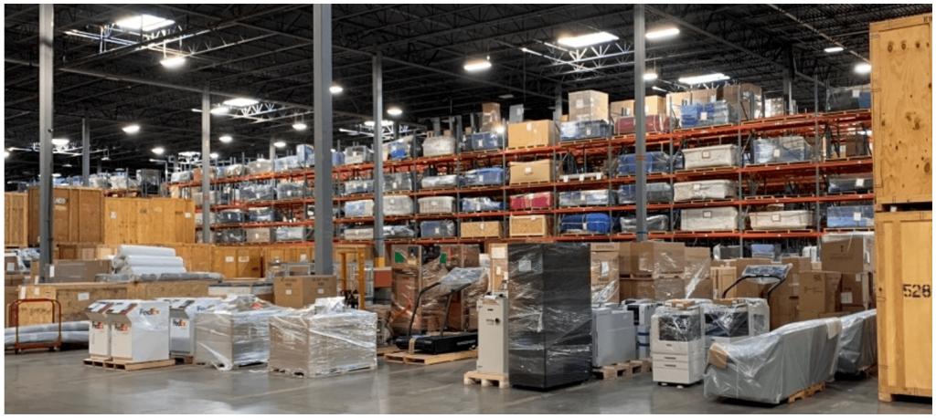 Buehler Warehouse Storage Solution