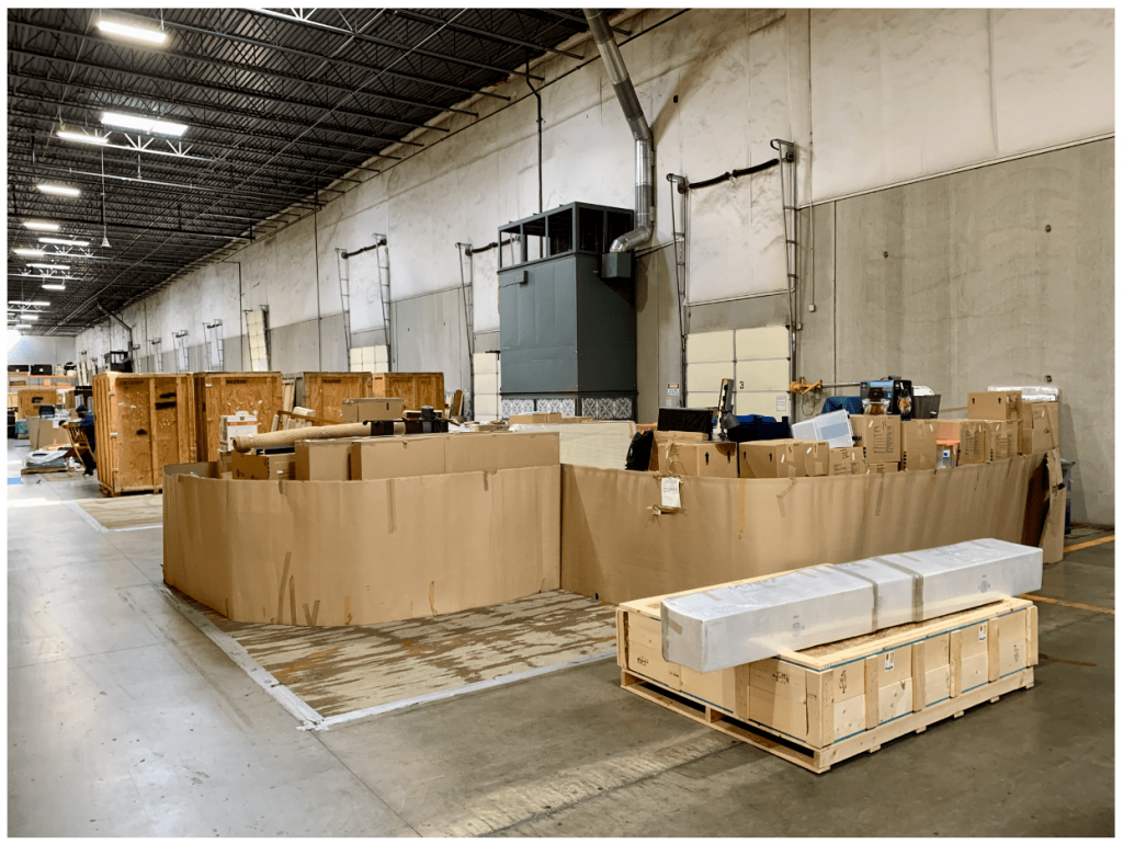 Buehler Temporary Storage Solution